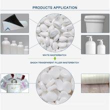 Masterbatch de plástico branco de alta qualidade para fibra