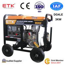 3kw Air-Cooling Portable Diesel Generator