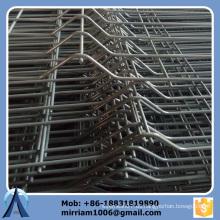 2.08m * material galvanizado recubierto de PVC de 3m malla de malla de alambre electro soldada de 50 * 200 mm