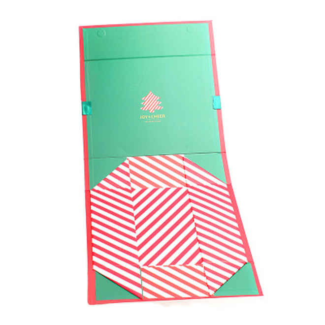 Folding Rigid Gift Box With Magnet Closure