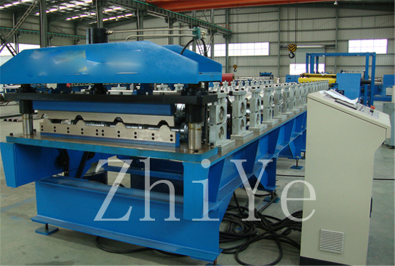 Color Steel Däck Golv Roll Forming Machine
