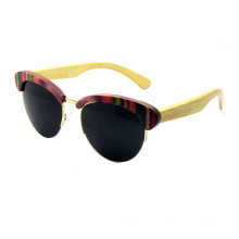 Attractive Design Wooden Sunglasses (SZ5686-2)