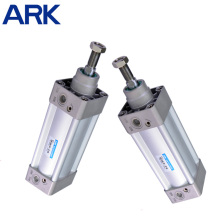 Cylindre pneumatique à air à action simple en aluminium série Si