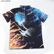 Custom Colorful T-Shirt Cotton Men Polo Shirt