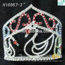 Последняя модная красота прекрасная Маленькая лебединая корона
