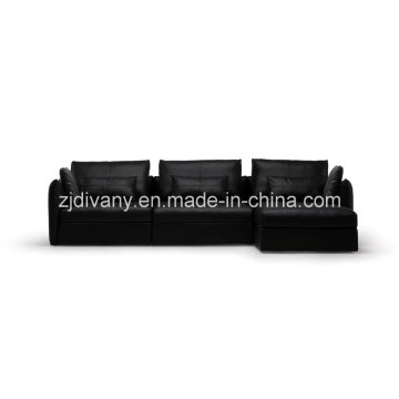 Leather Sofa Furniture (D-74D+B+E)