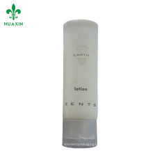 tubo de pe para embalagens de cosméticos limpar shampoo macio tubos de plástico eskinol limpador facial
