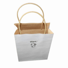Saco de compras de papel Kraft para embalagem