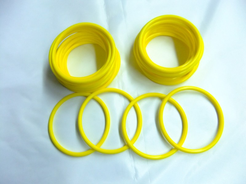 Yellow Silicone O Ring