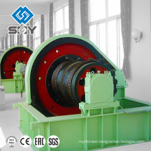 electric 12 volt cable pulling winch machine