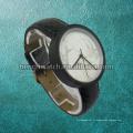Nouveau style en marbre cadran mode en acier inoxydable à quartz Hl-Bg-046