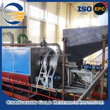 Fornalha de forno rotativo de carvão ativado de regeneração de venda quente