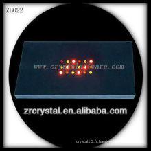 Lumière en plastique LED Light Base pour Crystal Model