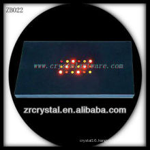 Wholesale Plastic LED Light Base for Crystal Model