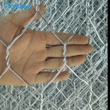 Hot Dipped Galvanized Woven Gabions Wire Mesh Box