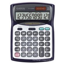 12 Max Digits Solar Power Source High Tech Scientific Calculator Office Desktop Calculator