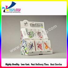 Factory Price Corrugated Paper Made Cosmetic Counter Display Box