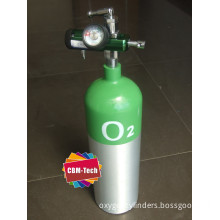 Portable Aluminum Oxygen Cylinder Kit ,Gas Cylinders , related gas items