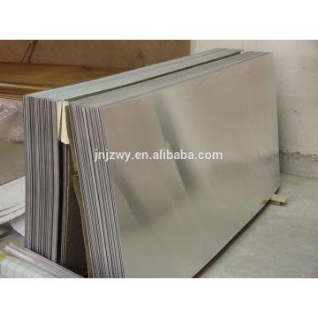 Placa de alumínio de 1060 mm de espessura de 0,08 mm