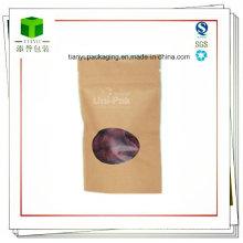 Food Grade Paper Snack Food Packaging Bags for Nuts