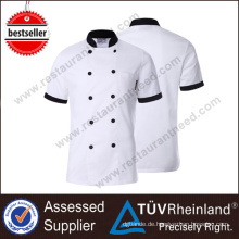 2017 moderne Restaurant Küche Koch Chef Uniform Stoff