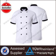 2017 Modern Restaurant Kitchen Cook Chef Uniform Fabric
