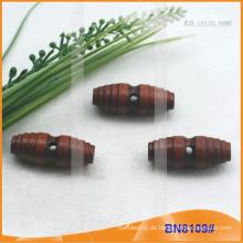 Mode Natürliche Holz Horn Toggle Button für Kleider BN8109