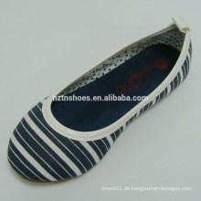 2015 Mischfarben schwarz und weiß Schuhe Frauen flache Schuhe tanzen Schuhe