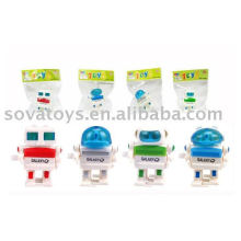 plastic wind up toy robot