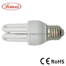 T3 3u 7W-15W ahorro de energía lámpara, luz