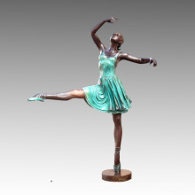 Grand Statue Ballet Performers Bronze Sculpture Tpls-013