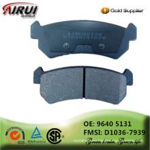 NOA ,disc brake pads, OE quality,motor brake pad (OE: 9640 5131 / FMSI: D1036-7939)