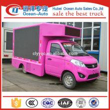 Venta directa de la fábrica mini móvil llevó el coche de la pantalla, el carro llevado de la cartelera para la venta