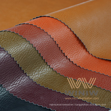 Quality Solvent Free PU Faux Leather Fabric for Clothing
