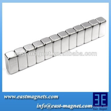 Coating zn nickel Block Assemblies Permanent NdFeB Magnet assembly