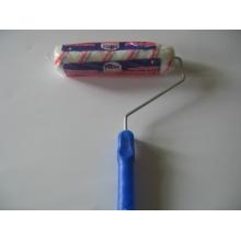 Plástica manejar rodillo cepillo de pintura (yy-620)