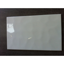 250X400mm White Color Wave Glazed Ceramic Wall Tile (28AW1Y)