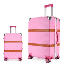 Aluminum frame trolley bags travel luggage wholesale