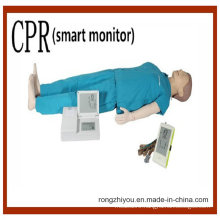 Comprehensive Emergency Skill Human CPR Manikin Model (smart monitor)