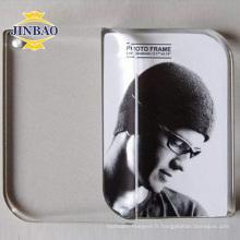 5 X 7 affichage acrylique clair de cadre de photo de signe acrylique clair de 3mm