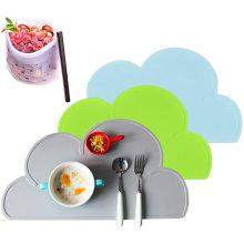 Многоразовый портативный детский коврик для еды, не содержащий бисфенола А