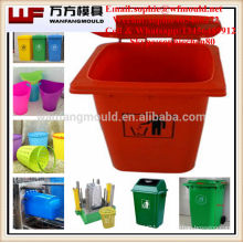 Zhejiang taizhou Plastic injection garbage bin mould 50L