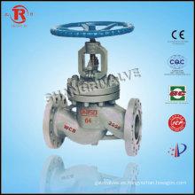 Alta presión ensanchó válvula de cierre de vacío