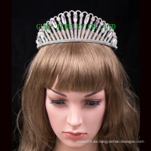Venta caliente Crystal Tiara Rhinestone Crown Factory directa