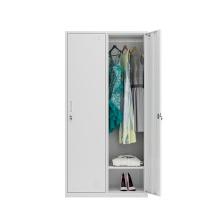 Free Shipping 2 Door Locker Steel Almirah / Double Door Steel Almirah Locker