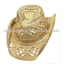 Sombrero de vaquero de moda con banda