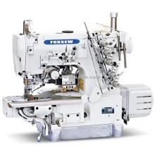 Прямая машина блокировки цилиндров для прижимов с левым боковым резаком и автоматическим триммером