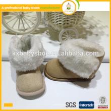 Botas bonitas de la nieve del bebé de la alta calidad caliente de la venta de la nueva llegada para el niño 2015