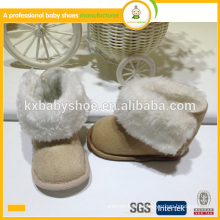 New arrival hot sale high quality pretty baby snow boots for toddler 2015