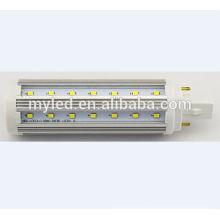 Plugue de Ningbo na lâmpada 9w luz do milho do diodo emissor de luz E27 G24 CE RoHS